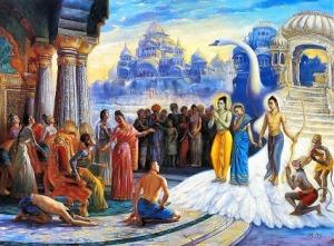 Rama Sita Lakshman Pushpak Viman